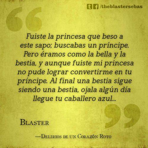 Fuiste la princesa