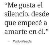 Me gusta el silencio