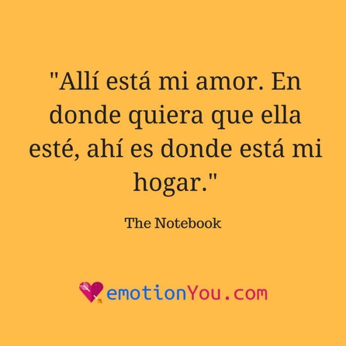 Allí esta mi amor…