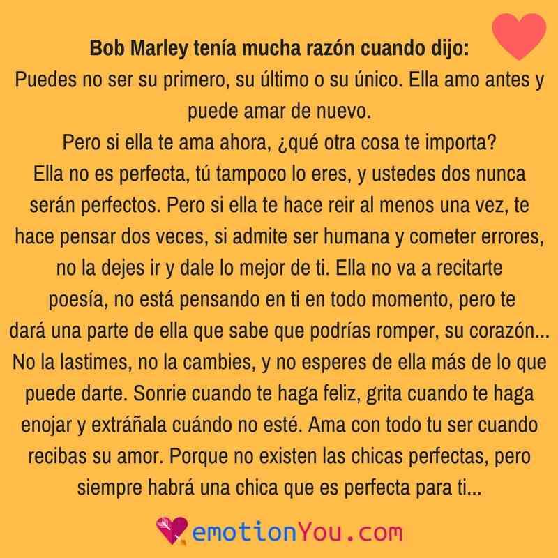 Bob Marley tenía razón
