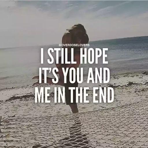 I still hope