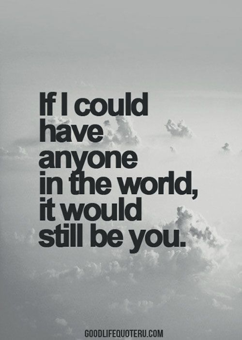 If I could