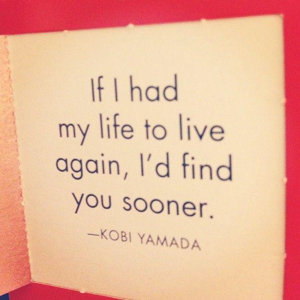 If I had