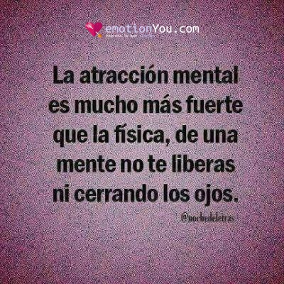 La atracción mental