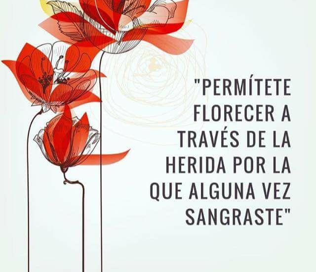 Permítete florecer