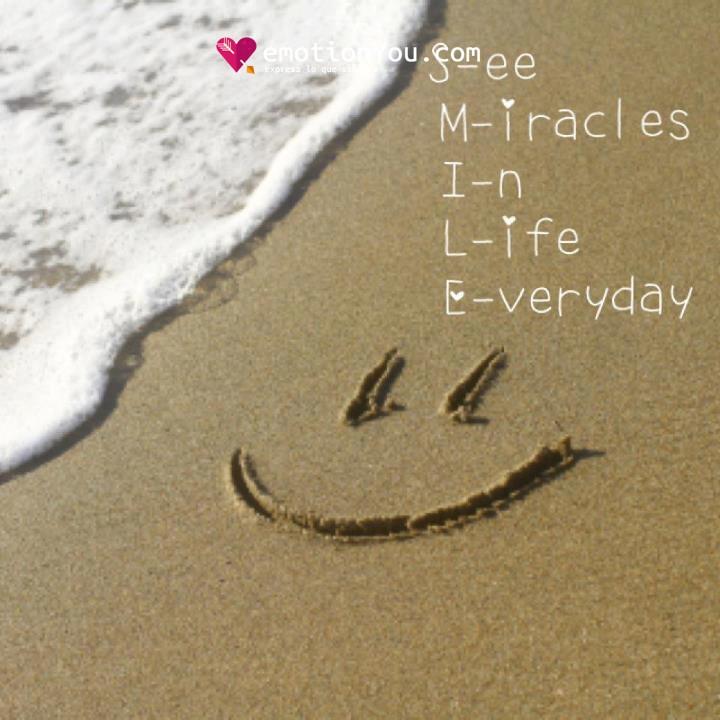 See miracles