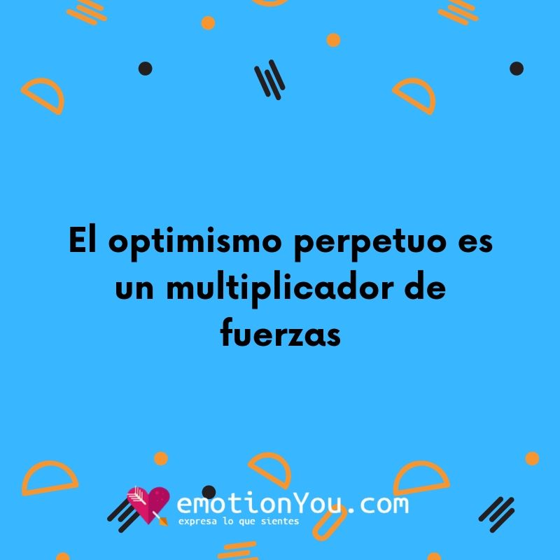 El optimismo