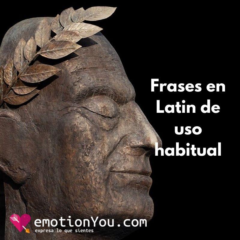 Frases en Latin que seguimos utilizando