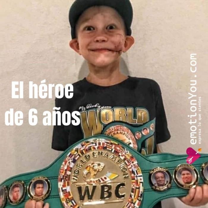 El héroe de 6 años