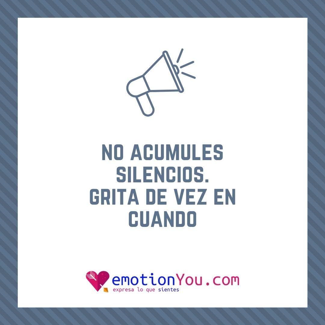 No acumules