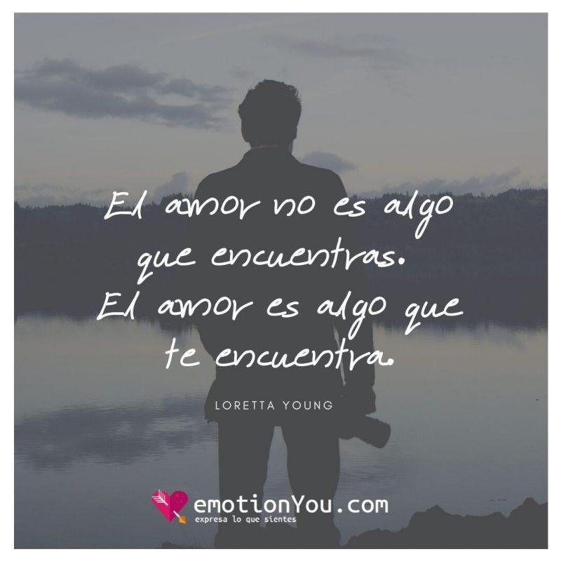 El amor no es