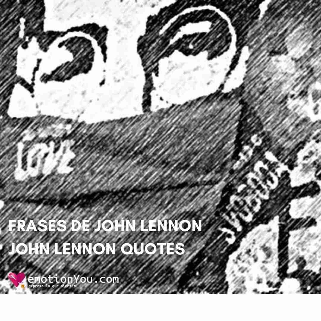 Frases de John Lennon / John Lennon Quotes