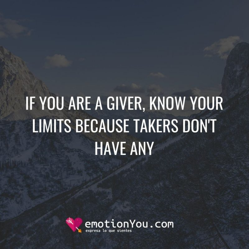 If you are a giver