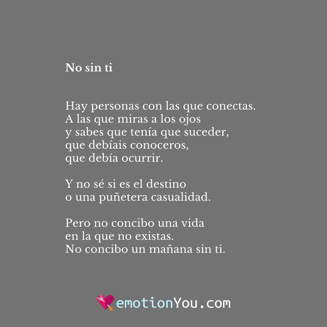 No sin ti